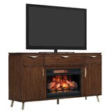 Ari TV Stand for TVs up to 65 with Electric Fireplace by Kelly Clarkson Home