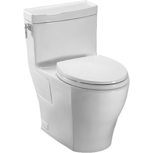 Toto Aimes High Efficiency 1.28 GPF Elongated One-Piece Toilet