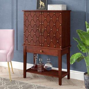 Lynwood Bar Cabinet with Wine Storage by Willa Arlo Interiors