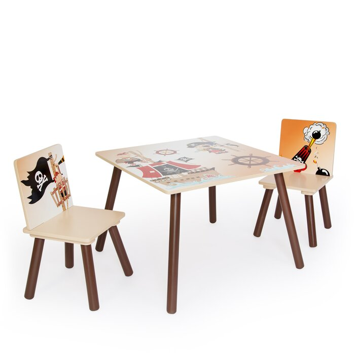 Surprising Eckman 3 Piece Childrens Table Set Pdpeps Interior Chair Design Pdpepsorg