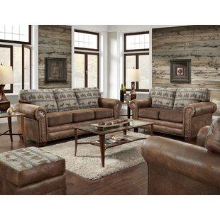 American Furniture Classics Deer Lodge 4 Piece Living Room Set
