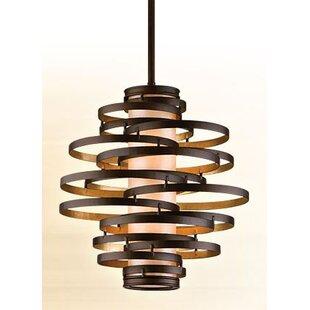 Vertigo Geometric Chandelier by Corbett Lighting