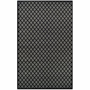 Cindi Gray/Black Area Rug
