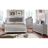 Amayah Queen 4 Piece Bedroom Set by Rosdorf Park