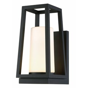 Affordable Wilmoth 1 Light LED Outdoor Sconce By Breakwater Bay