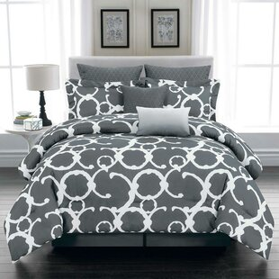 Winston Porter Paulk 10 Piece Reversible Comforter Set
