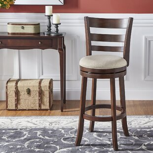 Leda Bar & Counter Swivel Stool by Andover Mills