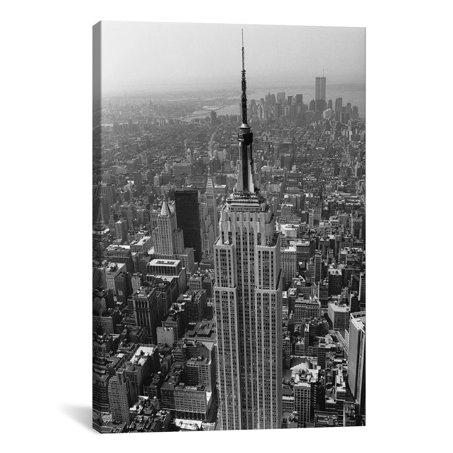 East Urban Home Empire State Building New York City Photographic Print On Canvas Reviews Wayfair