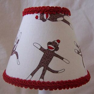 Sock Monkey Madness 11 Fabric Empire Lamp Shade