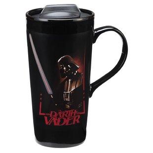 Star Wars Darth Vader 20 Oz. Heat Reactive Ceramic Travel Mug