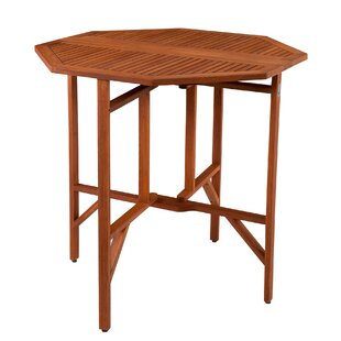Wellesley Folding Eucalyptus Dining Table by Breakwater Bay Cheap