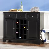Hedon 48 Wide 3 Drawer Server by Three Posts™