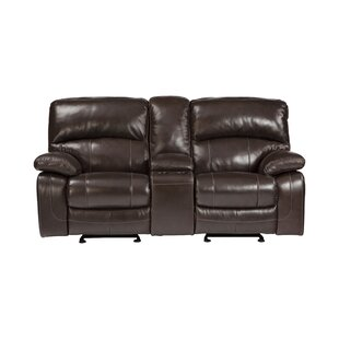 Krebs Glider Reclining Sofa Red Barrel Studio