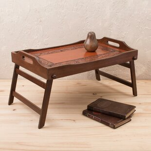 Orava Romance Cedar and Leather Serving Tray