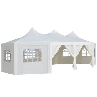 8.5m X 4.5m Steel Party Tent By Freeport Park