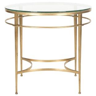 Willa Arlo Interiors Reynaldo Glass End Table
