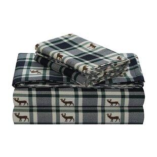 Nataly 100% Cotton Flannel Sheet Set