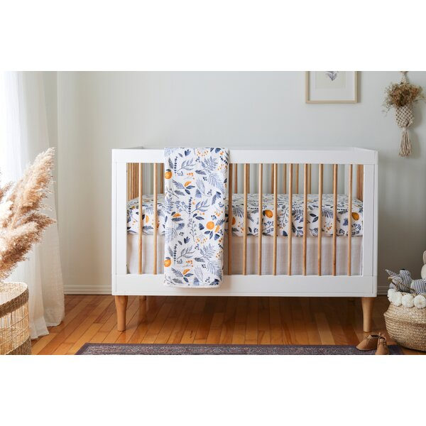 South Shore Dreamit Muslin 3 Piece Crib Bedding Set Wayfair