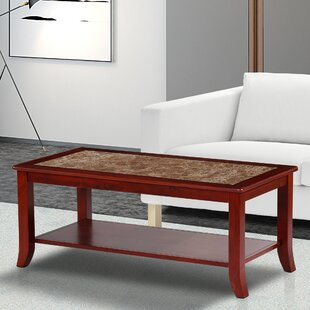 Marble Rectangle Coffee Tables Youll Love Wayfair