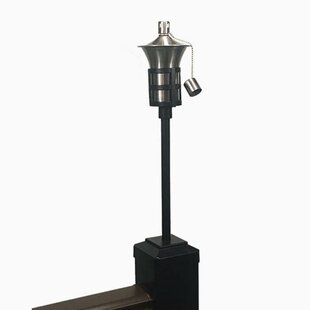 Oil Lamp Bracket Torch by Tru-Scapes Deck Lighting