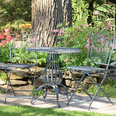 Callendale 3 Piece Bistro Set by Ophelia & Co. Savings
