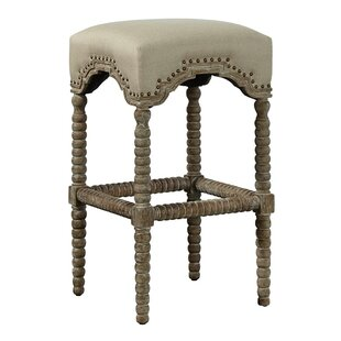 Backless Castle Bar Stool by Furniture Classics