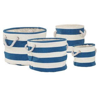 Nautical Laundry Bag By Beachcrest Home