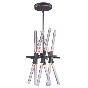 Orren Ellis Lepus 12-Light Sputnik Chandelier