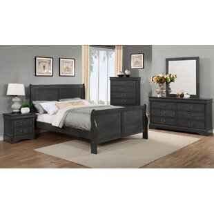 Blountsville Sleigh Configurable Bedroom Set