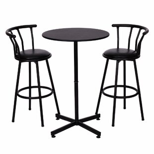 Caseville 3 Piece Pub Table Set