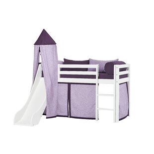 Basic Beautiful Bloom Mid Sleeper Bed With Textile Set By Hoppekids