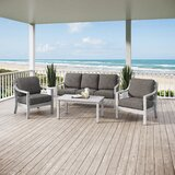 Schirado 4 Piece Sofa Seating Set by Rosecliff Heights