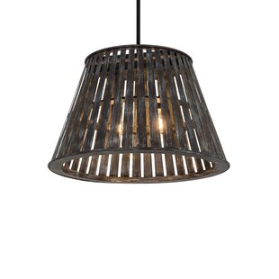 Meyda Tiffany Greenbriar Oak 2-Light Cone Pendant