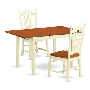 Balfor 3 Piece Dining Set by Andover Mills Best Design