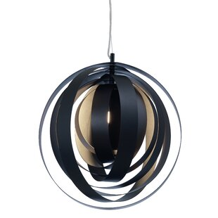 Orba 1-Light Pendant by Nuevo