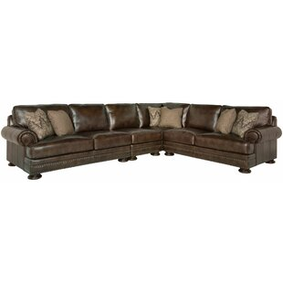 Foster Leather Modular Sectional by Bernhardt