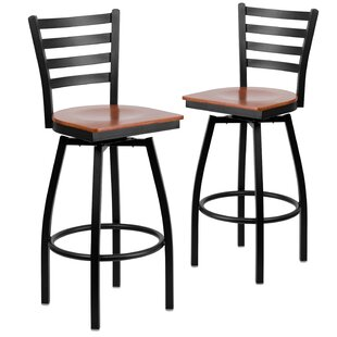 Chafin 31 Swivel Bar Stool (Set of 2) Winston Porter