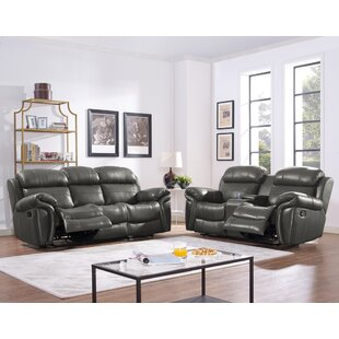 Compare & Buy Glausen Leather Power Reclining Sofa by Red Barrel Studio Reviews (2019) & Buyer's Guide