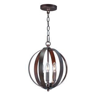 Wrought Studio Mielke 3-Light Globe Pendent