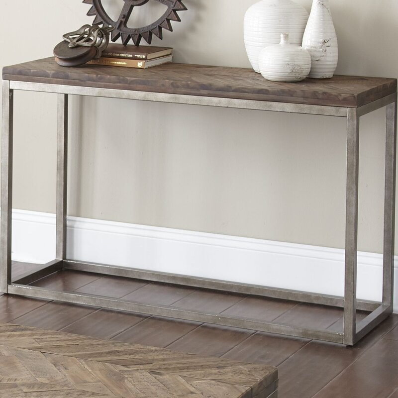 Laurel foundry modern farmhouse kenton console table amp reviews wayfair
