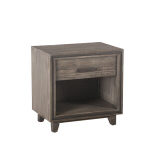 Chronister 1 Drawer Nightstand by Gracie Oaks Savings