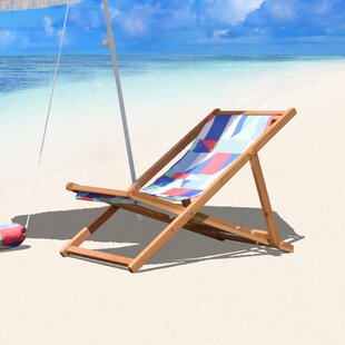 Brayden Studio Reidy Cabana Reclining Beach Chair