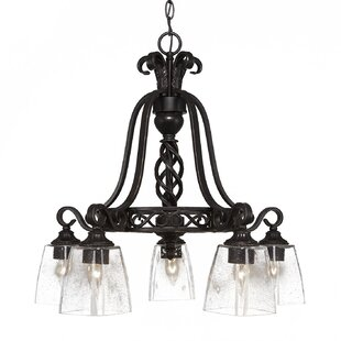 Astoria Grand Pierro 5-Light Candle-Style Chandelier