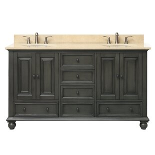 Find the perfect Samoset 61 Double Modern Bathroom Vanity Set By Gracie Oaks