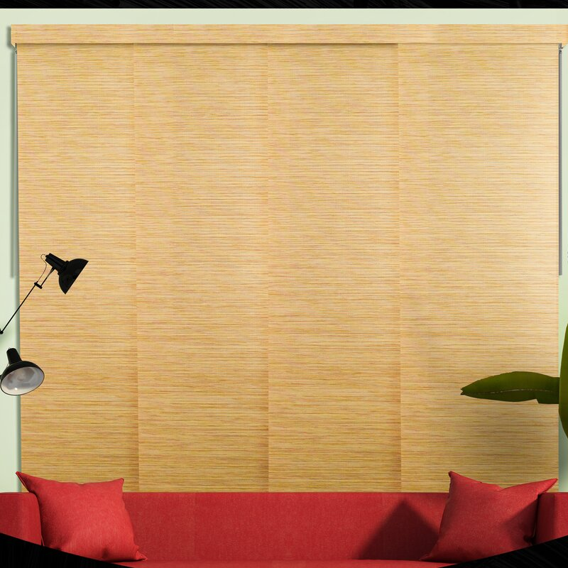 patio darkening blinds fabric with room decoration vertical