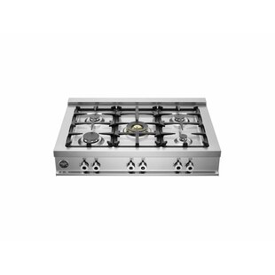 Pro Series 36 Gas Cooktop with 5 Burners