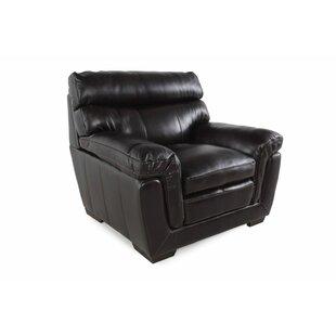 LYKE Home Leather Chair an..