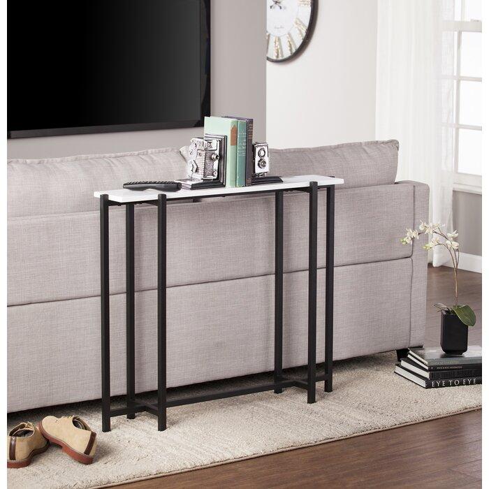 narrow sofa table. Jeske Contemporary Narrow Console Table Sofa P