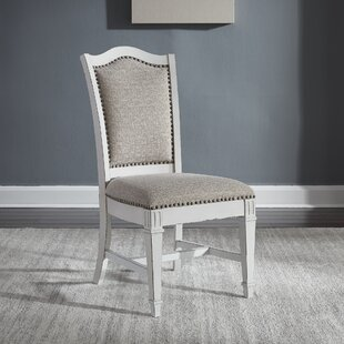 Jersey Upholstered Dining Chair (Set of 2) Ophelia & Co.