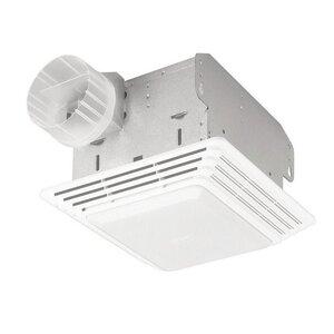 50 CFM Bathroom Fan with Light
